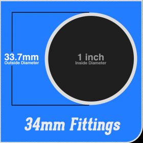 34mm Fittings