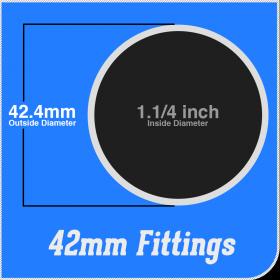 42mm Fittings