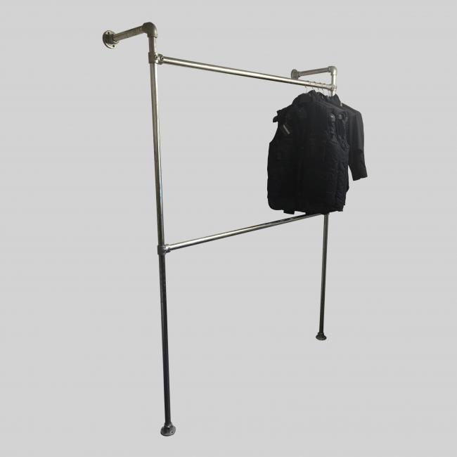 Wall Mounted Clothing Display Rail